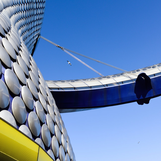 """Selfridges Department Store Birmingham,UK."" stock image"
