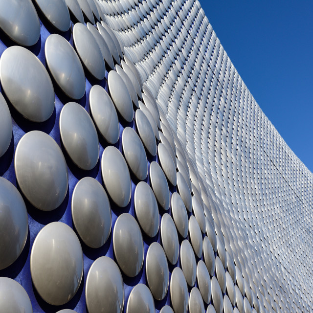 """Birmingham Bullring shopping centre,UK."" stock image"