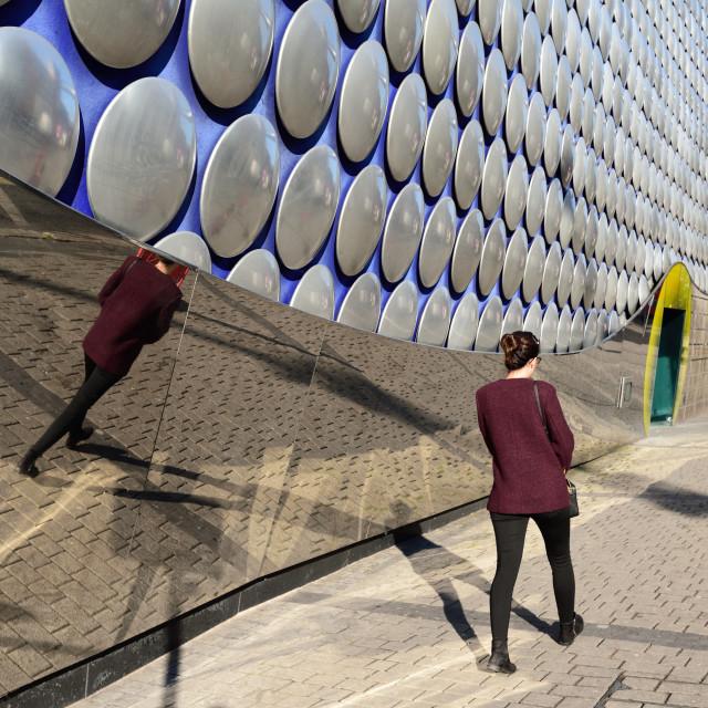 """Birmingham Bullring shopping centre,UK."" stock image"
