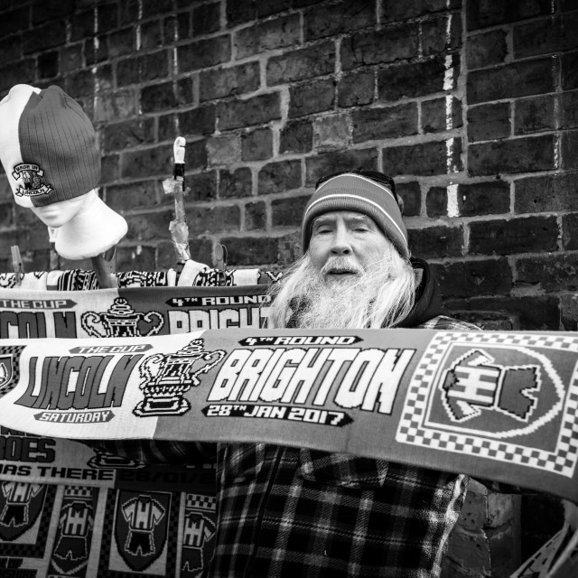 """Lincoln City vs Brighton Hove Albion ,UK."" stock image"
