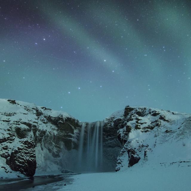 """""""Skogafoss, Iceland"""" stock image"""