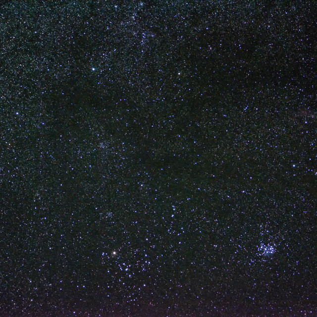 """""""Open Star Clusters Of Taurus"""" stock image"""