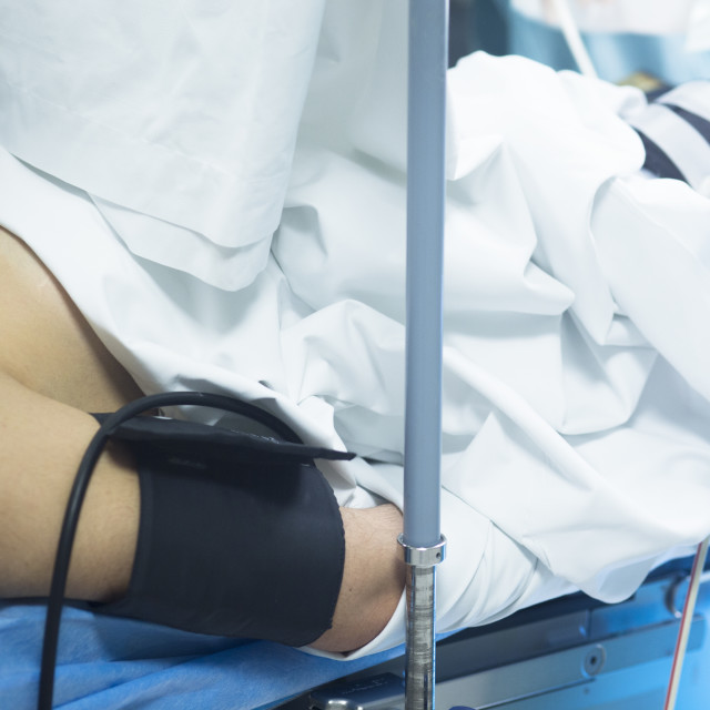 """""""Hospital surgery operating theater"""" stock image"""