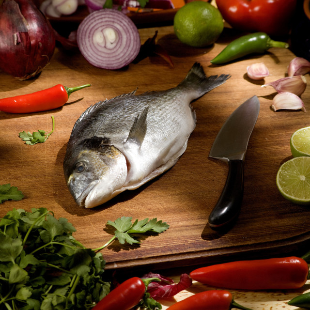 """sea bream"" stock image"