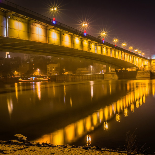 """Branko's bridge 1"" stock image"
