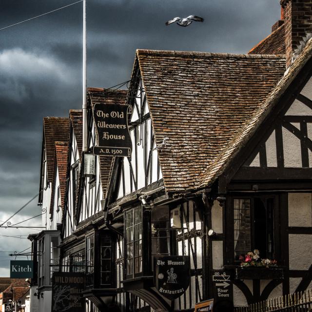 """""""Canterbury, England, the UK"""" stock image"""