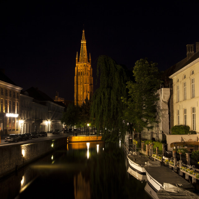 """""""Bruges Canals"""" stock image"""