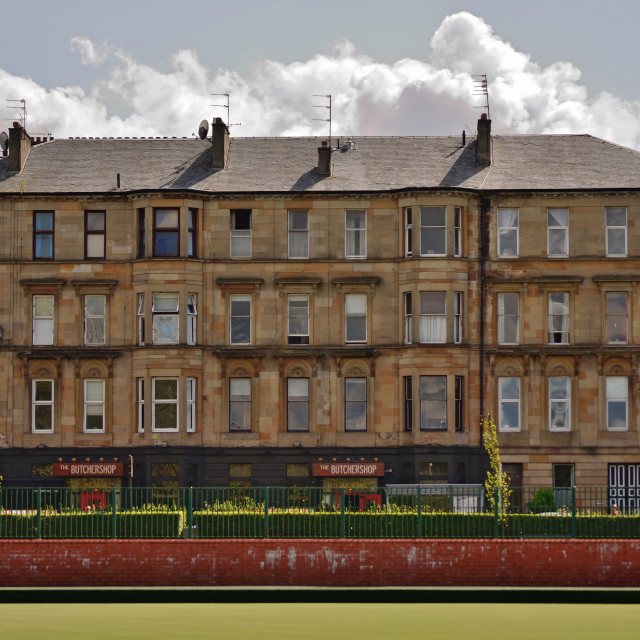 """Tenements"" stock image"
