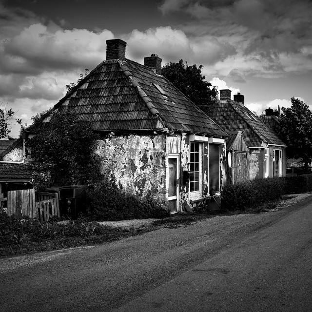 """old house"" stock image"