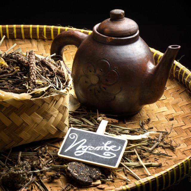 """Liang Tea"" stock image"