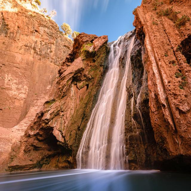 """Sources Oum er- Rbia, Aguelmam Azigza National Park, Morocco"" stock image"
