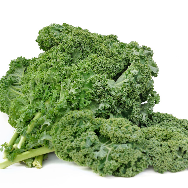 """""""leave of kale cabbage"""" stock image"""