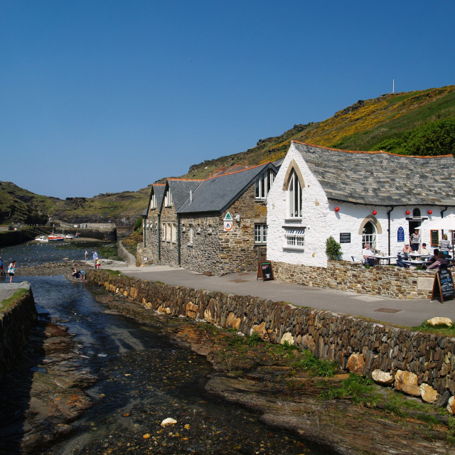 """Boscastle"" stock image"