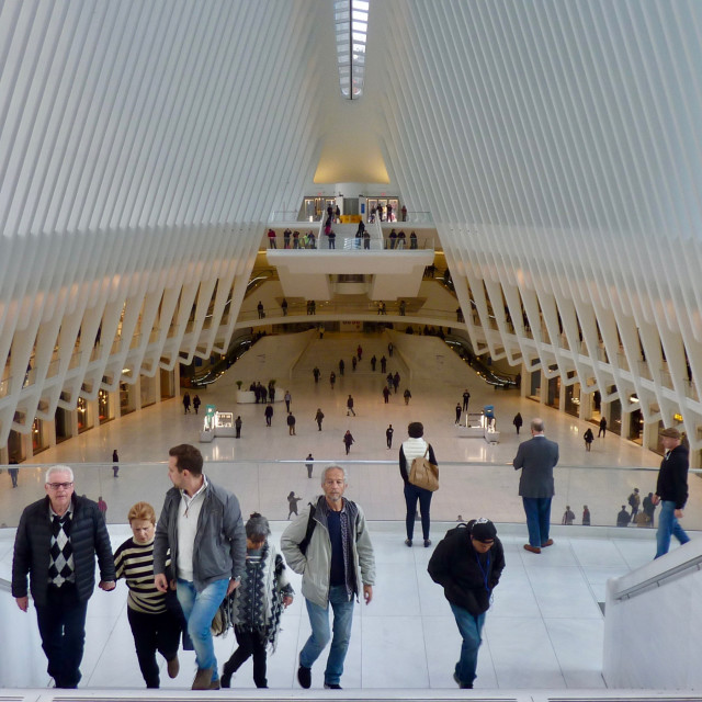 """Oculus WTC station New York"" stock image"