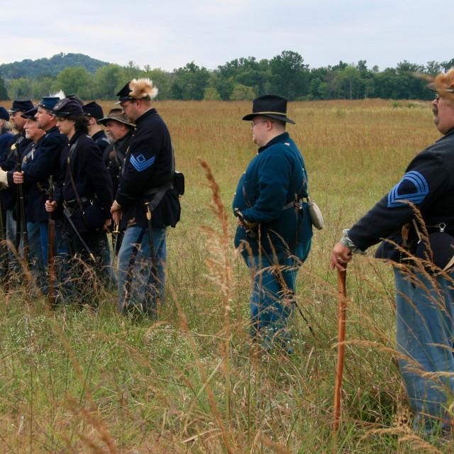 """""""Civil War Gettysburg"""" stock image"""