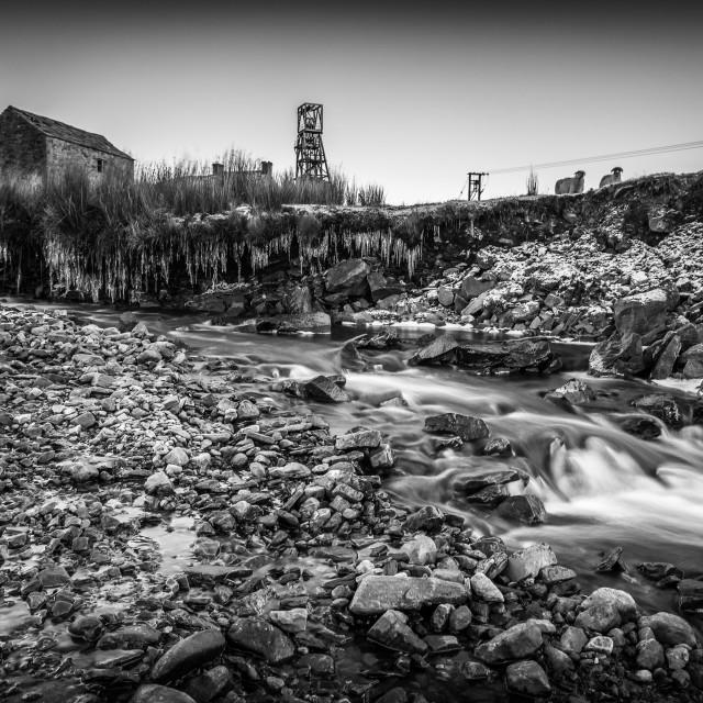 """""""Abandoned Mine."""" stock image"""