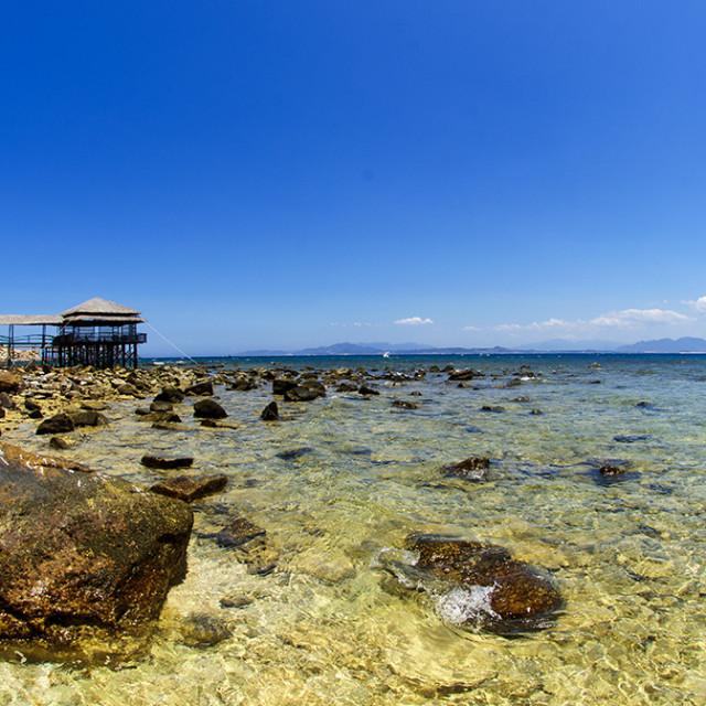 """Hon Noi Island / Nha Trang / Vietnam"" stock image"