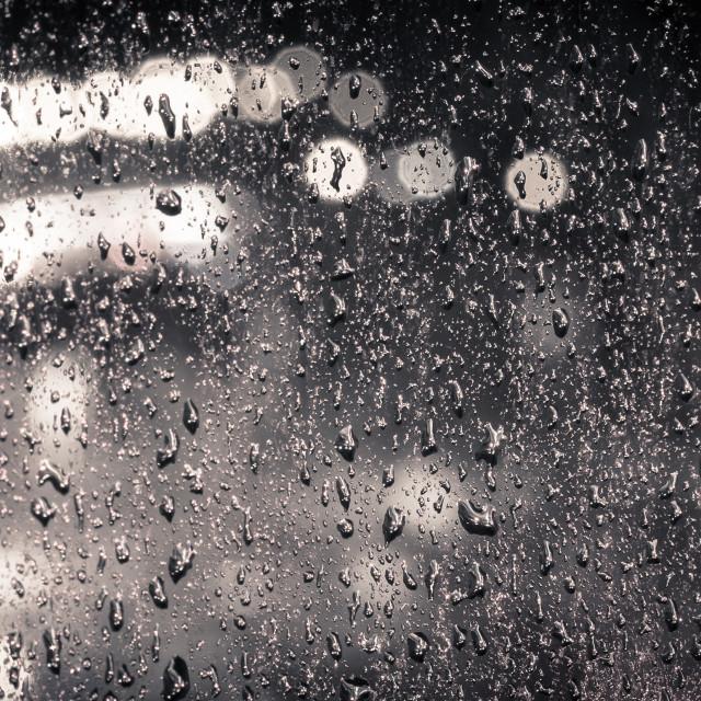"""Night monochrome dreams"" stock image"