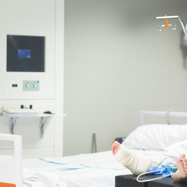 """Hospital ward emergency room"" stock image"
