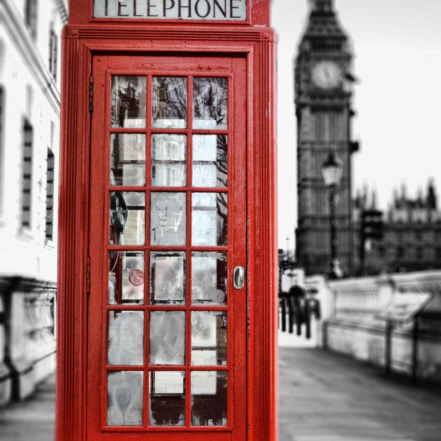 """Phone Box"" stock image"