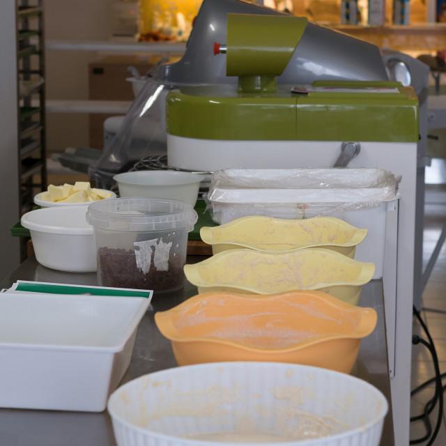 """""""Bread machine in the laboratory"""" stock image"""