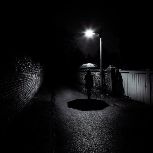 """Film Noir"" stock image"