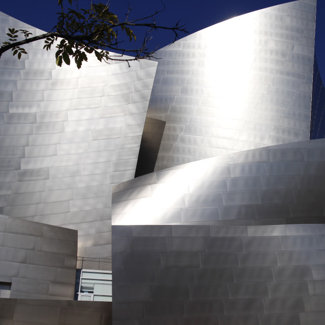 """Disney Hall"" stock image"