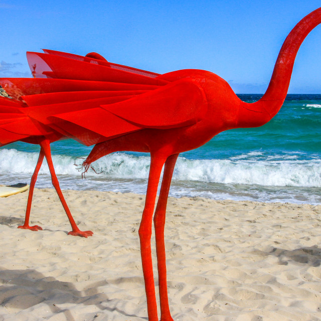 """Cotesloe Beach WA - Art Festival"" stock image"