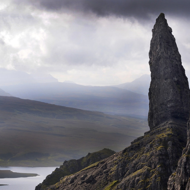 """The Old Man of Storr, Skye"" stock image"