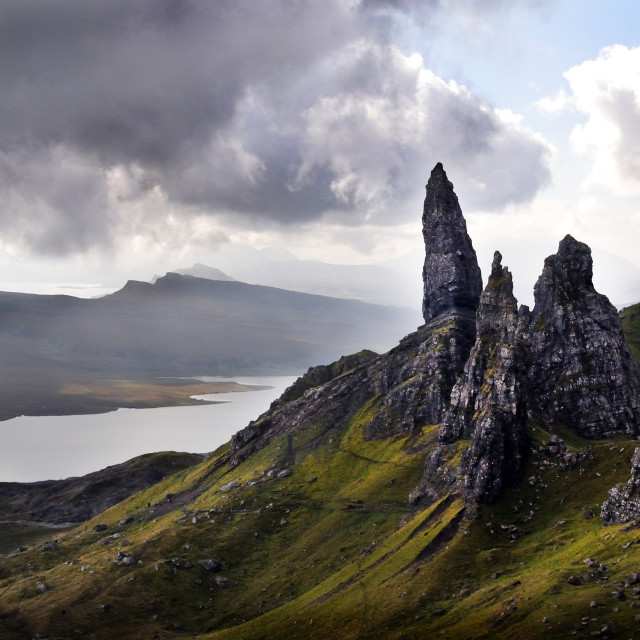 """The Old Man of Storr, Isle of Skye"" stock image"