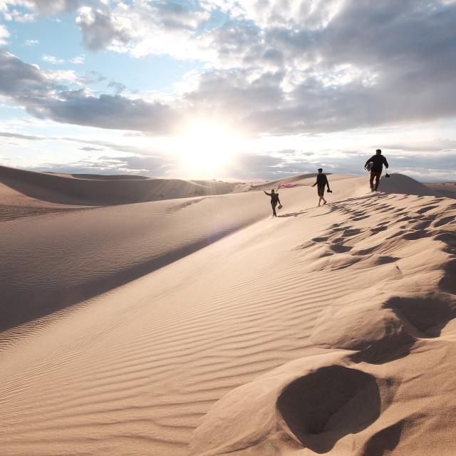 """""""Imperial Dunes Adventure"""" stock image"""