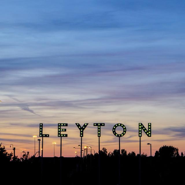 """Leyton"" stock image"