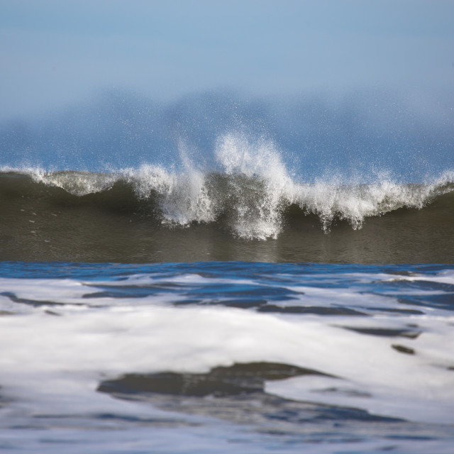 """Breaking wave"" stock image"