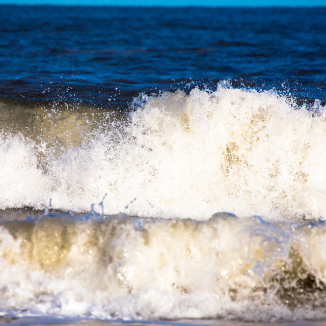 """Crashing waves"" stock image"