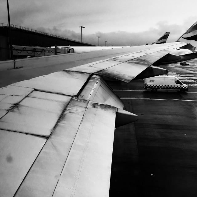 """British Airways Boeing 777"" stock image"