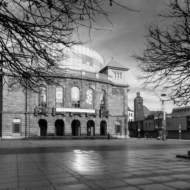 """State Theatre Mainz"" stock image"