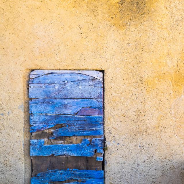 """Rousillon, Vaucluse. Provence. France"" stock image"