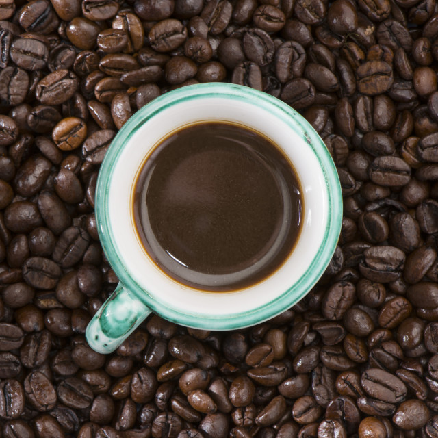 """Coffee beans."" stock image"