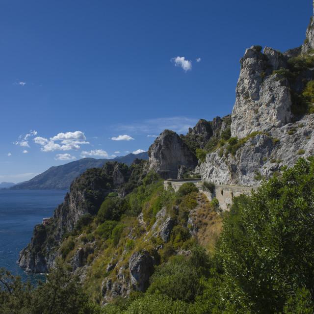 """""""Amalfi Coast"""" stock image"""