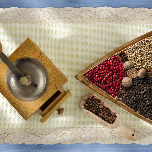 """""""Spices."""" stock image"""