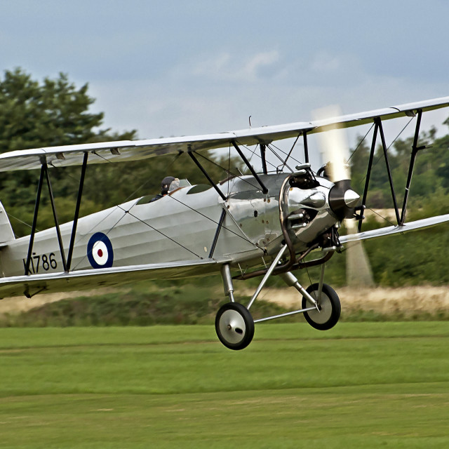"""Hawker Tomtit 1930 (III)"" stock image"