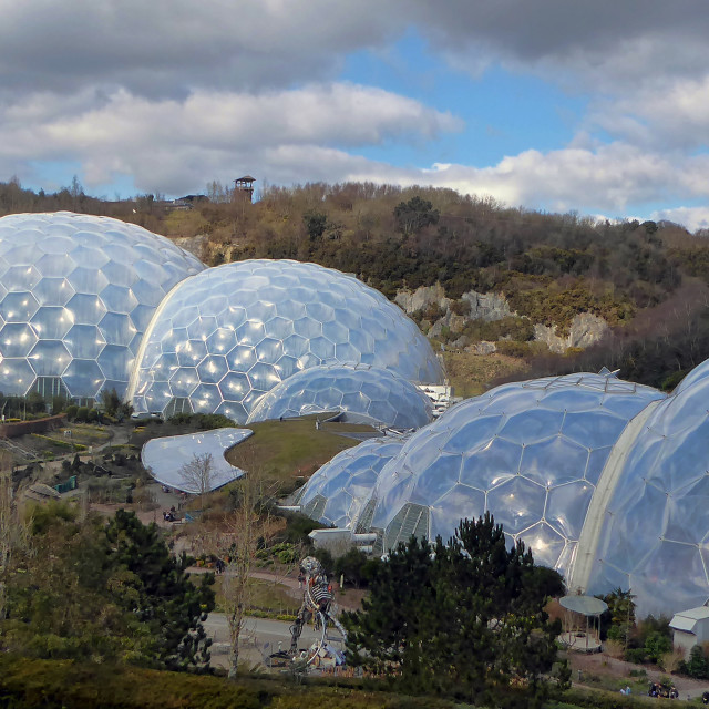 """Eden Project"" stock image"