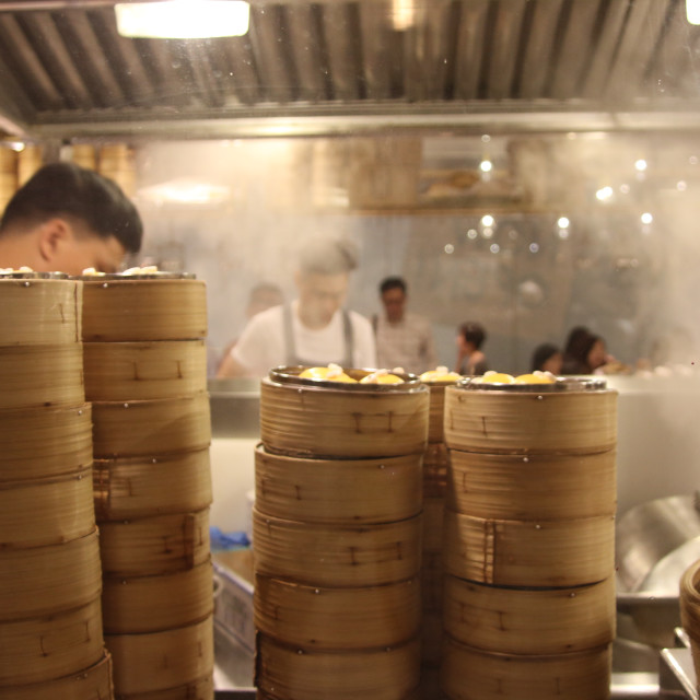 """Dim Sum Tower"" stock image"