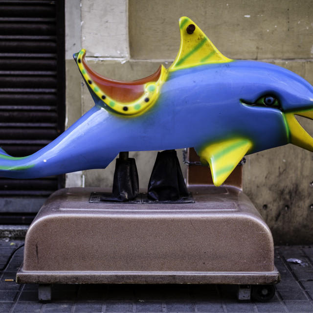 """Electric Dolphin"" stock image"