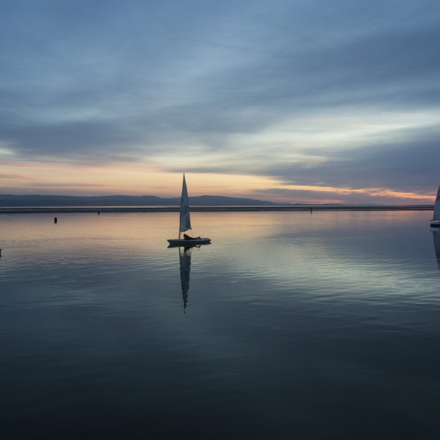 """Wonderful West Kirby"" stock image"