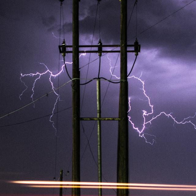 """""""Thunder"""" stock image"""