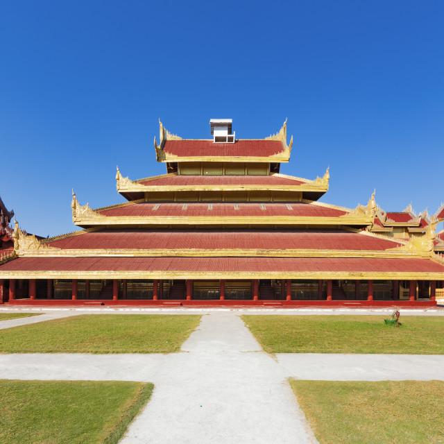 """Mandalay Palace.Myanmar"" stock image"