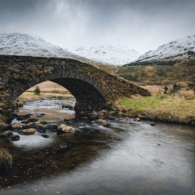 """Butterbridge in winter"" stock image"