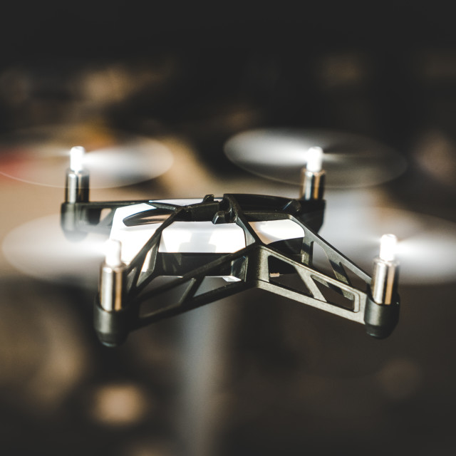 """""""Small Drone"""" stock image"""