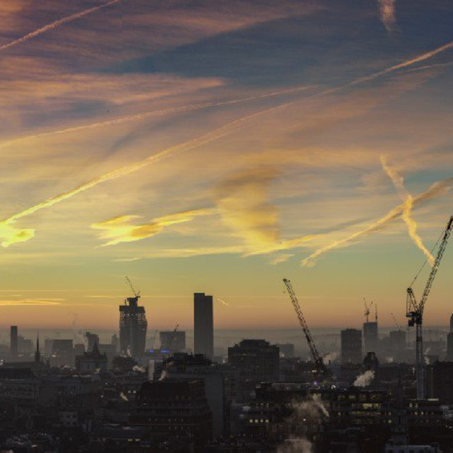 """London Dawn"" stock image"